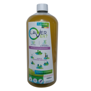 Lessive naturelle 1L Laver Vert