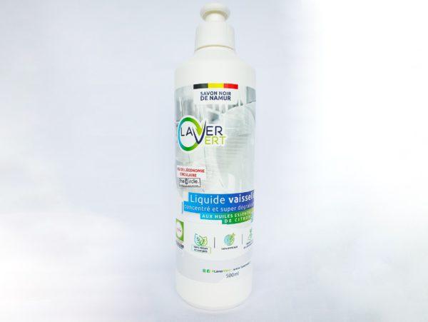 Liquide vaisselle 100% naturel Laver Vert 500ml